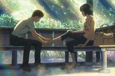 アニメ映画『言の葉の庭』/シブい夢を持つ少年が、一回りも違う女教師に恋しちゃいました